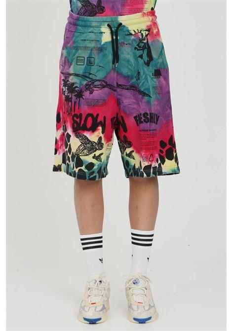 Pantaloncini sportivi multicolore MAUNA-KEA | Shorts | MKU226TLR13