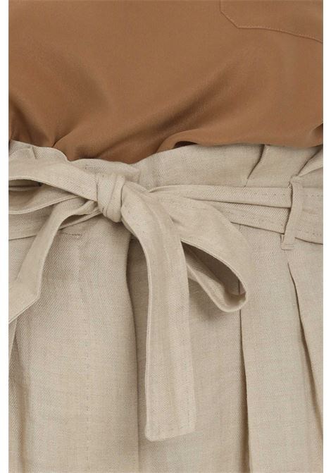 Palace trousers with curls at the waist MAX MARA | Pants | 61310211600001