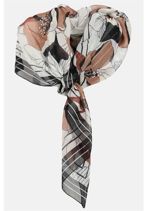Patterned scarf with allover print. Light model with transparency. Max Mara MAX MARA | Scarf | 65410211600001