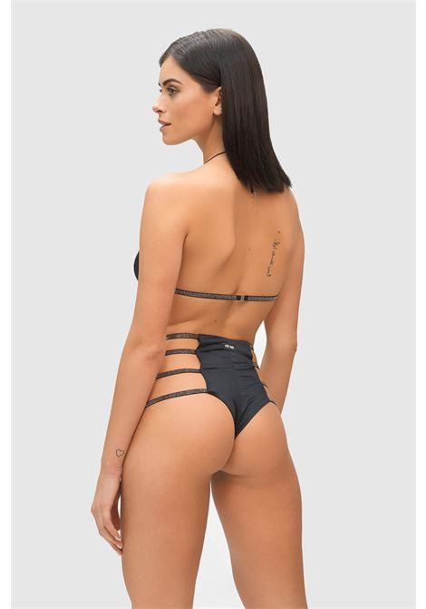 Black moonlight bikini by me fui triangle model with retro brief ME FUI | Beachwear | M21-0001NRNR