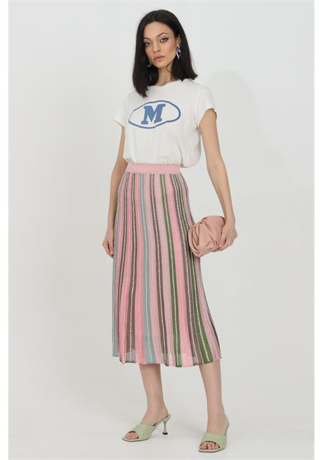 Long skirt knitted with lurex MISSONI | Skirt | 2DH00202-2K0090L302P