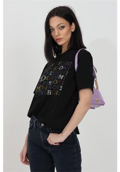 T-shirt con stampa pattern multicolor MISSONI | T-shirt | 2DL00084-2J005D93911