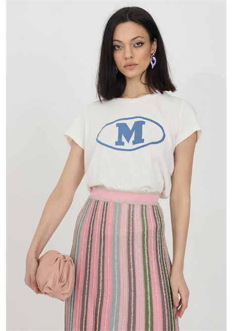 T-shirt basic con logo oro sul fronte MISSONI | T-shirt | 2DL00086-2J005F14300
