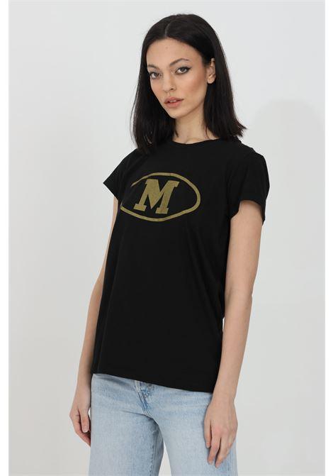 T-shirt basic con logo oro sul fronte MISSONI | T-shirt | 2DL00086-2J005F93911
