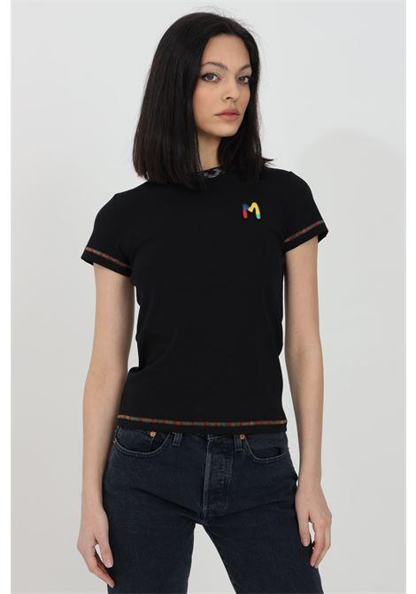 T-shirt con logo ricamato sul fronte MISSONI | T-shirt | 2DL00088-2J002U93911