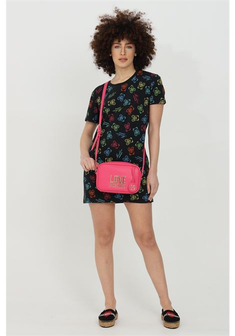 Short dress with bears pattern print MOSCHINO | Dress | A190790081555