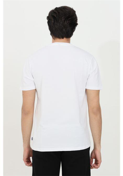 T-shirt girocollo con logo sul fronte MOSCHINO | T-shirt | A192281250001