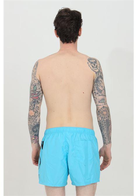 Shorts mare con stampa logo sul retro MOSCHINO | Beachwear | A614459890333