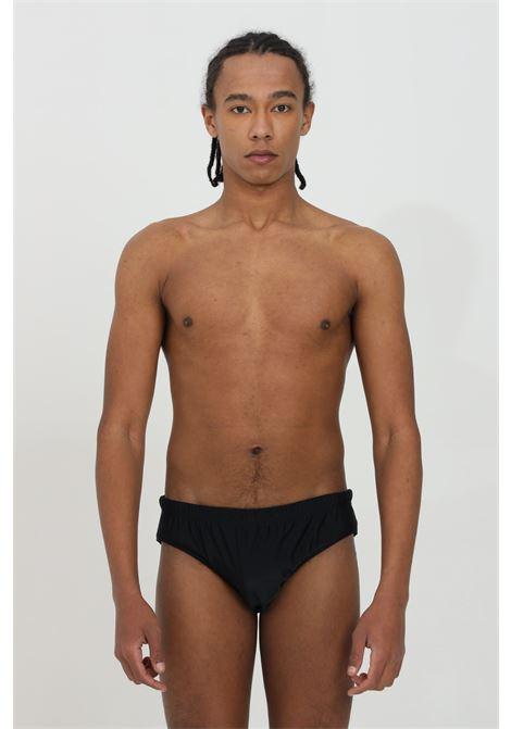 Slip mare con stampa oro sul retro MOSCHINO | Beachwear | A615652110555