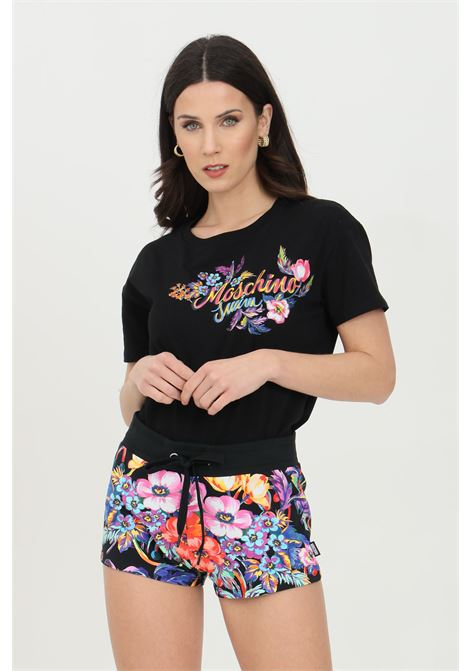 Multicolor shorts with elasticat waistband with drawstring and two bellows pockets. Moschino MOSCHINO | Shorts | A670621121555