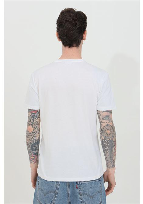 White t-shirt with smallo logo in contrast, short sleeve. Comfortable model. Napapijri  NAPAPIJRI | T-shirt | NP0A4EW80021002