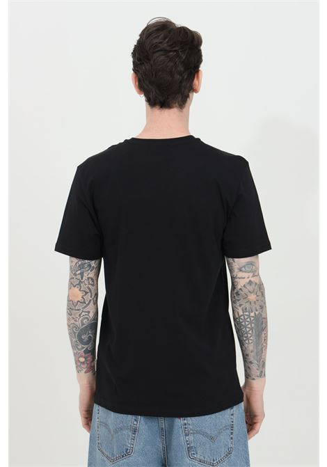 Black t-shirt with smallo logo in contrast, short sleeve. Comfortable model. Napapijri NAPAPIJRI | T-shirt | NP0A4EW80411041