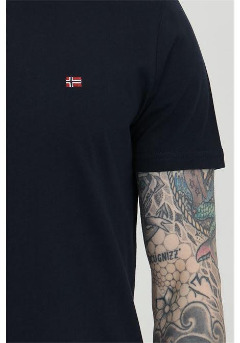 T-shirt girocollo con logo in dimensioni ridotte sul fronte NAPAPIJRI | T-shirt | NP0A4EW817611761