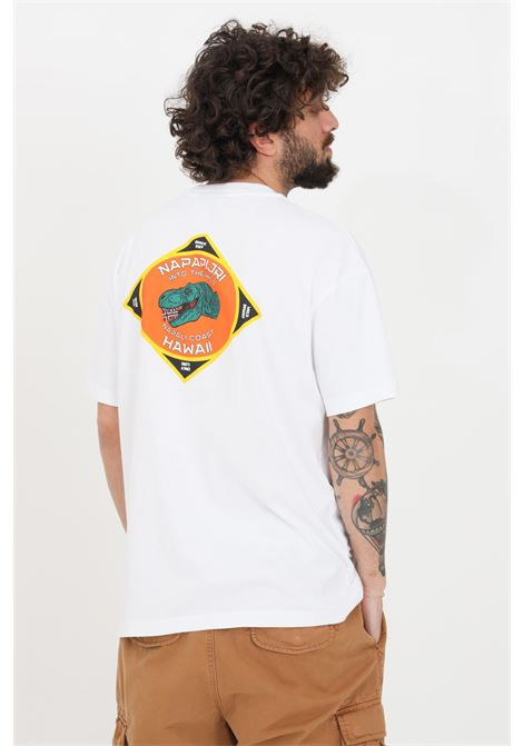 White t-shirt short sleeve napapijri NAPAPIJRI | T-shirt | NP0A4F5MF4L1F4L1