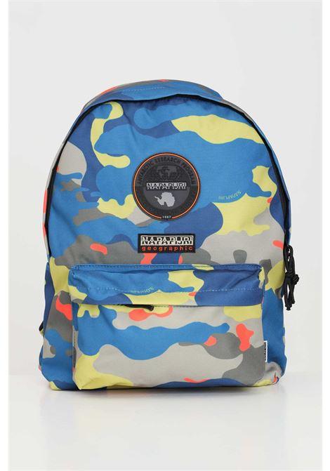 Multicolor unisex backpack with allover camou print. Napapijri  NAPAPIJRI | Backpack | NP0A4F61F4F1F4F1