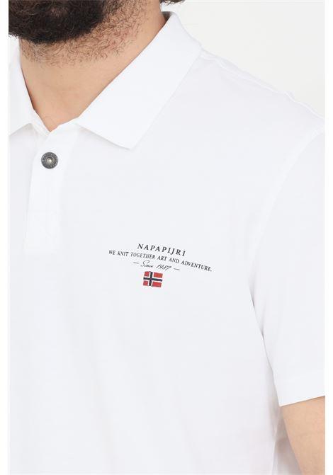 White polo shirt napapijri  NAPAPIJRI | Polo Shirt | NP0A4F9P00210021