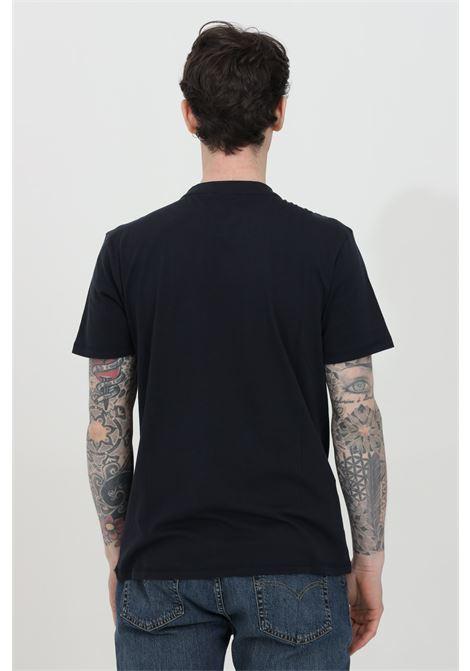 T-shirt uomo blu napapijri a manica corta con stampa frontale. Modello comodo NAPAPIJRI | T-shirt | NP0A4F9R17611761