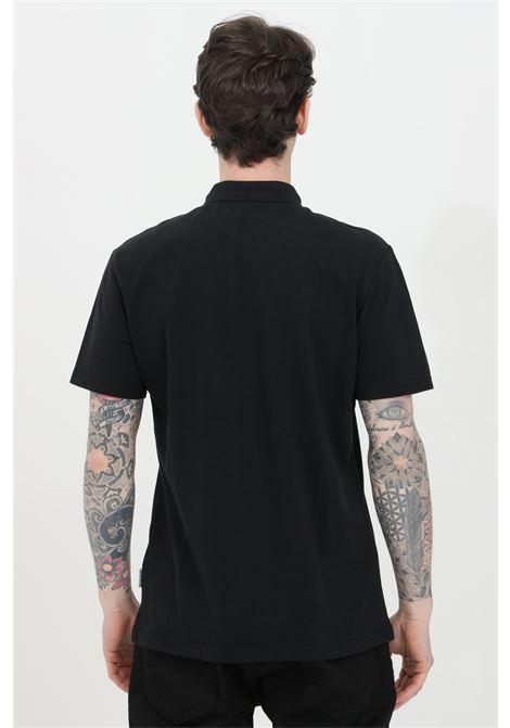 Polo uomo nero napapijri modello basic con bottoni e mini logo frontale. Regular fit NAPAPIJRI | Polo | NP0A4FA304110411