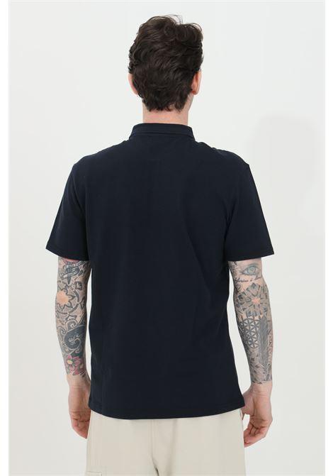 Blue polo shirt with buttons and small logo on the front, basic model. Napapijri NAPAPIJRI | Polo Shirt | NP0A4FA317611761