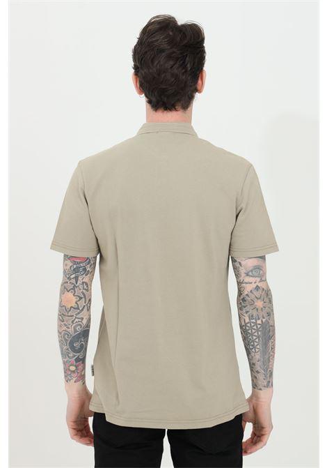 Polo uomo sabbia napapijri modello basic con bottoni e mini logo frontale. Regular fit NAPAPIJRI | Polo | NP0A4FA3G5L1G5L1