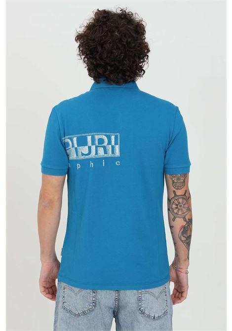 Blue polo shirt with logo print on the front. Collar with smooth mesh.Napapijri NAPAPIJRI | Polo Shirt | NP0A4FA4BC91BC91