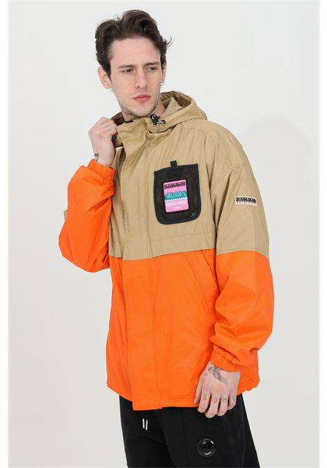 Lightweight two-tone jacket with full-length zip NAPAPIJRI | Jacket | NP0A4FBL8M918M91