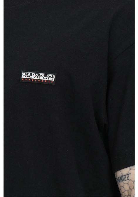 T-shirt girocollo con logo di dimensioni ridotte sul fronte NAPAPIJRI | T-shirt | NP0A4FG80411041