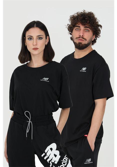 T-shirt unisex nera new balance girocollo NEW BALANCE | T-shirt | MT11592BK..
