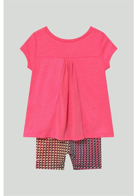 Completino neonato rosa nike NIKE | Completini | 16H452-02323