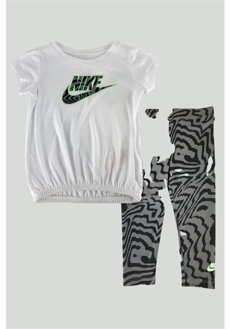 White-military newborn outfit. Nike NIKE | Kit | 16H498-02323