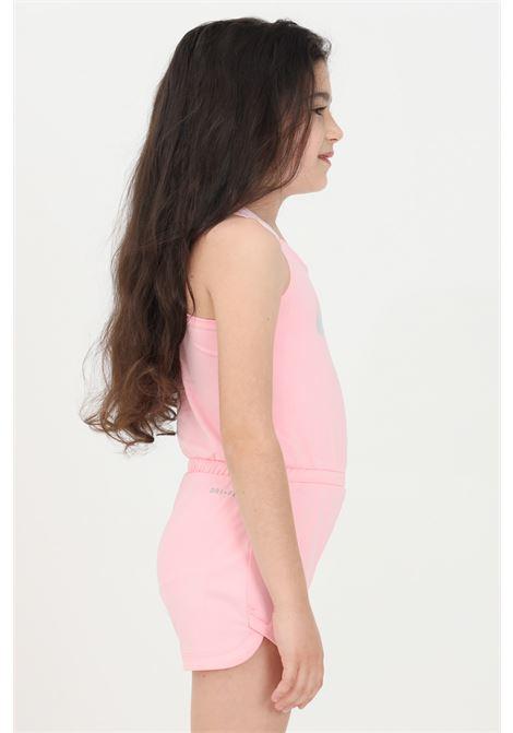 Tuta neonato rosa nike con logo sul fronte NIKE | Tute | 16H709-A6AA6A