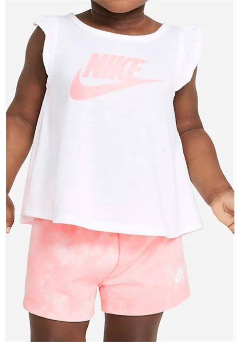 T-shirt neonato nike bianco a canotta NIKE | T-shirt | 16H833-A6AA6A