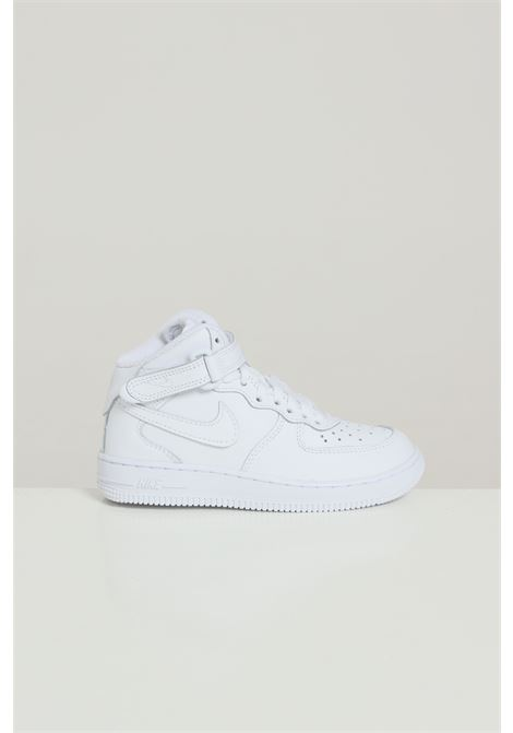 White baby sneakers with tone on tone logo nike NIKE | Sneakers | 314196113