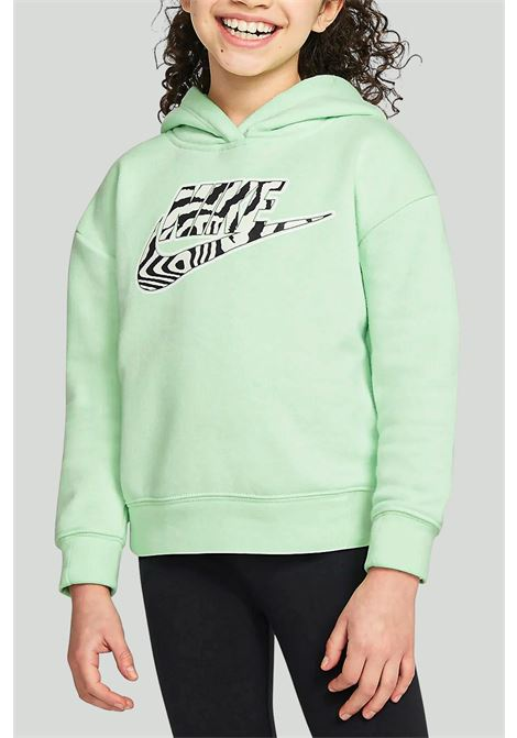 Hooded sweatshirt with animal print NIKE | Sweatshirt | 36H496-E2EE2E