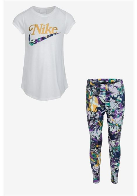 Nike girl outfit with flower print NIKE | Kit | 36H799-02323