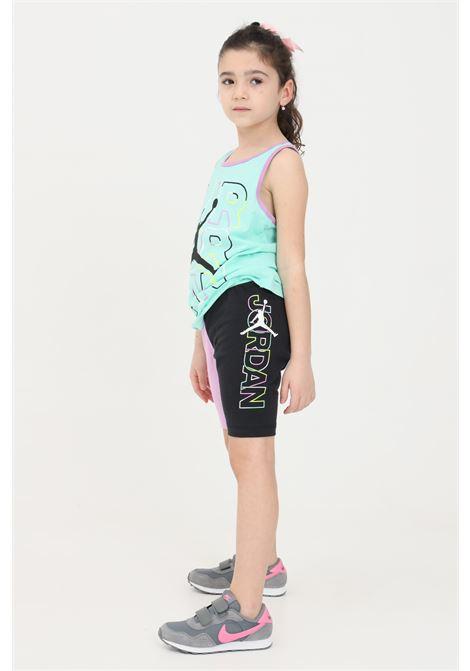 Shorts bambina glicine-nero nike NIKE | Shorts | 45A574-02323