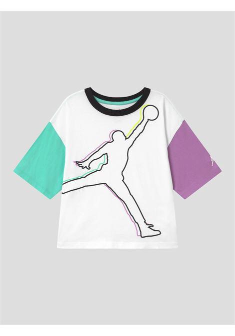 T-shirt bianco over bambina nike jordan NIKE | T-shirt | 45A575-0011