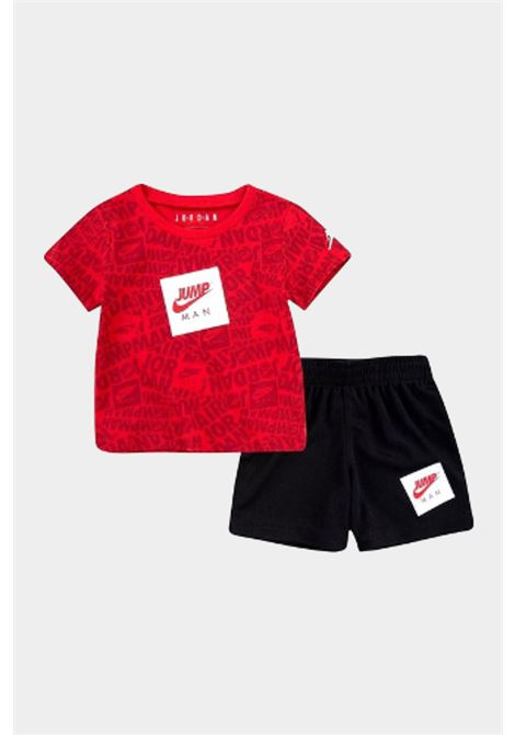 Red-black newborn outfit. Nike jordan NIKE | Kit | 65A358-02323