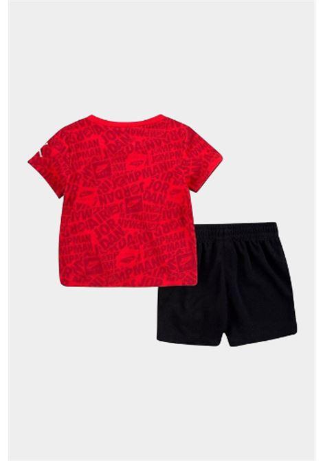 Completino neonato rosso-nero nike jordan NIKE | Completini | 65A358-02323