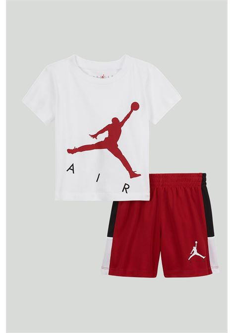 White-red newborn ourfit. Nike jordan NIKE | Kit | 65A390-R78R78