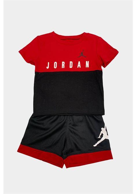 Completino neonato rosso-nero nike jordan NIKE | Completini | 65A396-02323