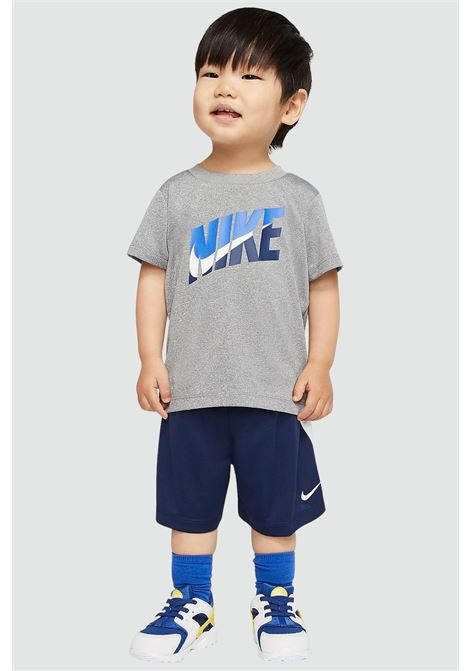 Grey-blue newborn outfit. Nike  NIKE | Kit | 66G054-U90U90