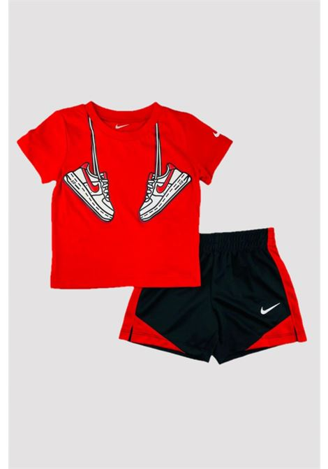 Red-black newborn outfit. Nike NIKE | Kit | 66H360-02323