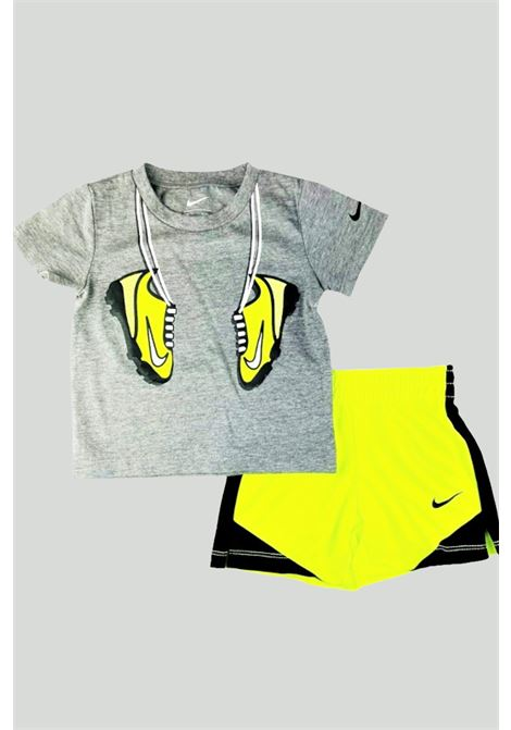 Grey-yellow newborn outfit. Nike NIKE | Kit | 66H360-F68F68