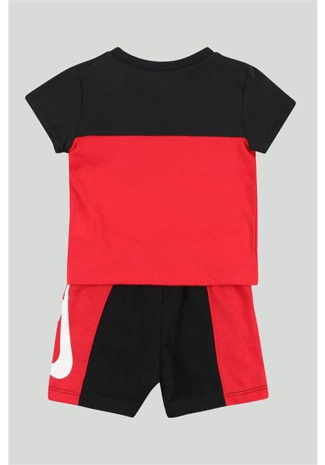 Completino neonato rosso-nero nike NIKE | Completini | 66H363-U10U10