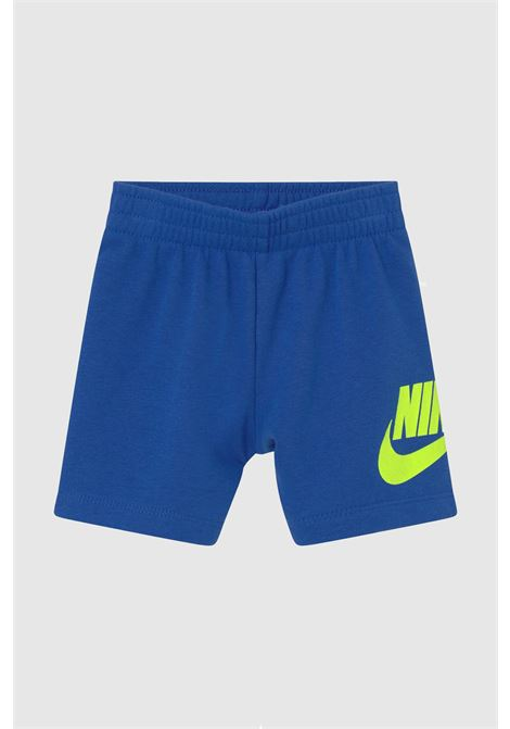 Completino neonato blu nike t-shirt e shorts NIKE | Completini | 66H749-U89U89