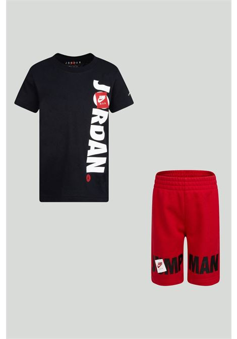 Completino bambino rosso-nero nike jordan NIKE | Completini | 85A357-R78R78