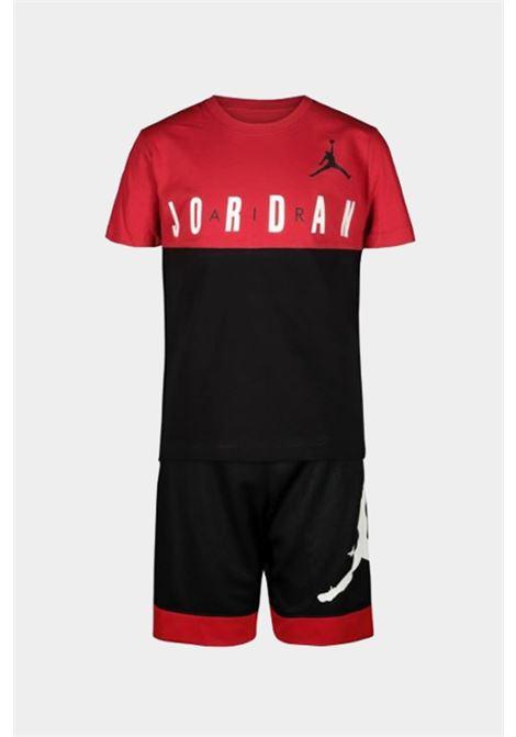 Completino bambino rosso-nero nike jordan NIKE | Completini | 85A396-02323