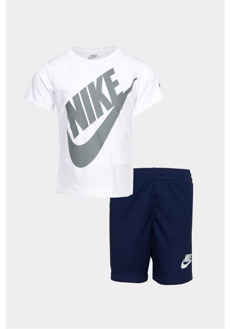 White-blue baby outfit. Nike NIKE | Kit | 86F024-U90U90