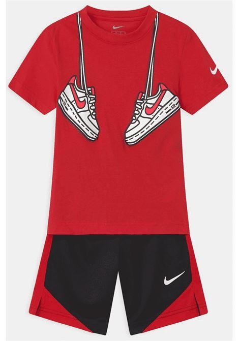 Completino bambino rosso-nero Nike NIKE | Completini | 86H360-02323